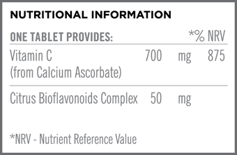 Buffered C Nutritional Information