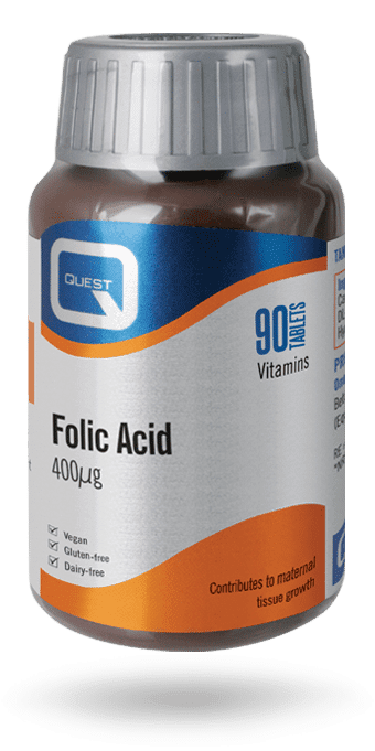 Folic Acid 400mcg 90 tabs