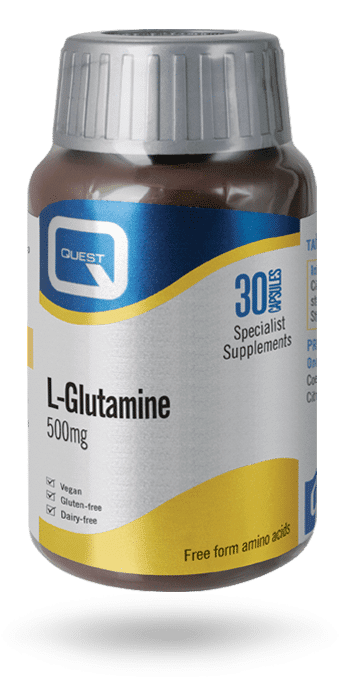 L-Glutamine 500mg 30 caps