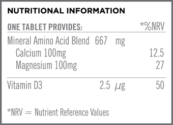 Synergistic Cal-Mag Nutritional Information