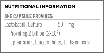 Tumbiotix Nutritional Information