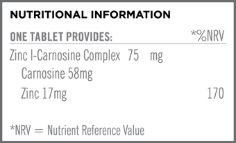Carnozin Nutritional Information