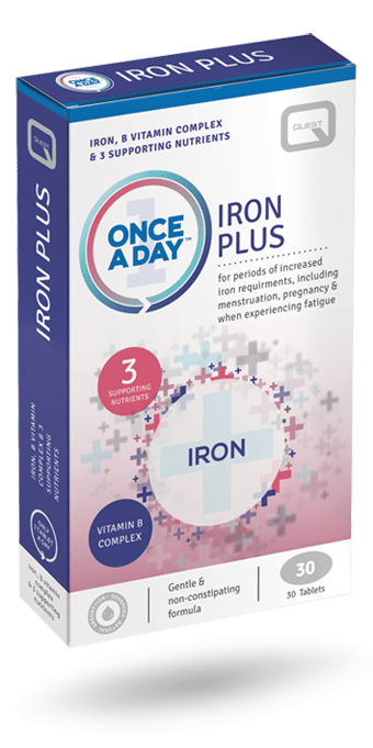 Once a Day Iron Plus