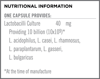 Platinum Biotix Nutritional Information