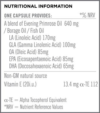 Super Omega 3-6-9 Nutritional Information