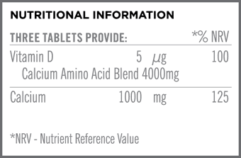 Synergistic Calcium Nutritional Information
