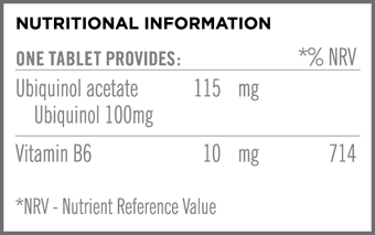 Ubiquinol Qu10 Nutritional Information